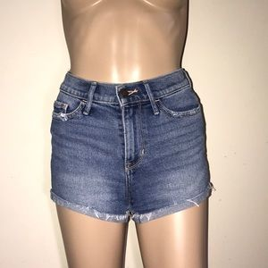 Hollister high waist Jean shorts